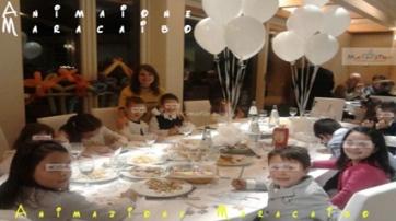 Animazione e Assistenza al tavolo per bambini durante matrimoni