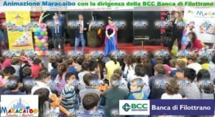 BCC Banca Filottrano - organizzazione grande evento aziendale bambini Macerata Ancona Pesaro Ascoli Marche Umbria
