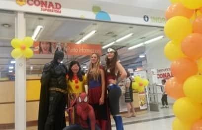 Eventi feste centri commerciali negozi organizzazione animazione per bambini Macerata Ancona Pesaro Ascoli Marche Umbria