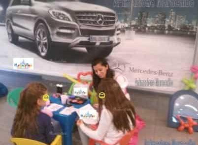 Mercedes - organizzazione evento aziendale family day bambini animatrici