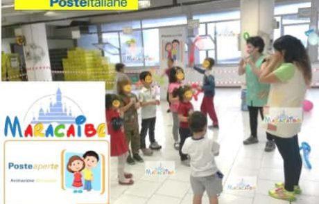 Poste Italiane animazione festa aziendale per bambini Macerata Ancona Pesaro Ascoli Marche Umbria