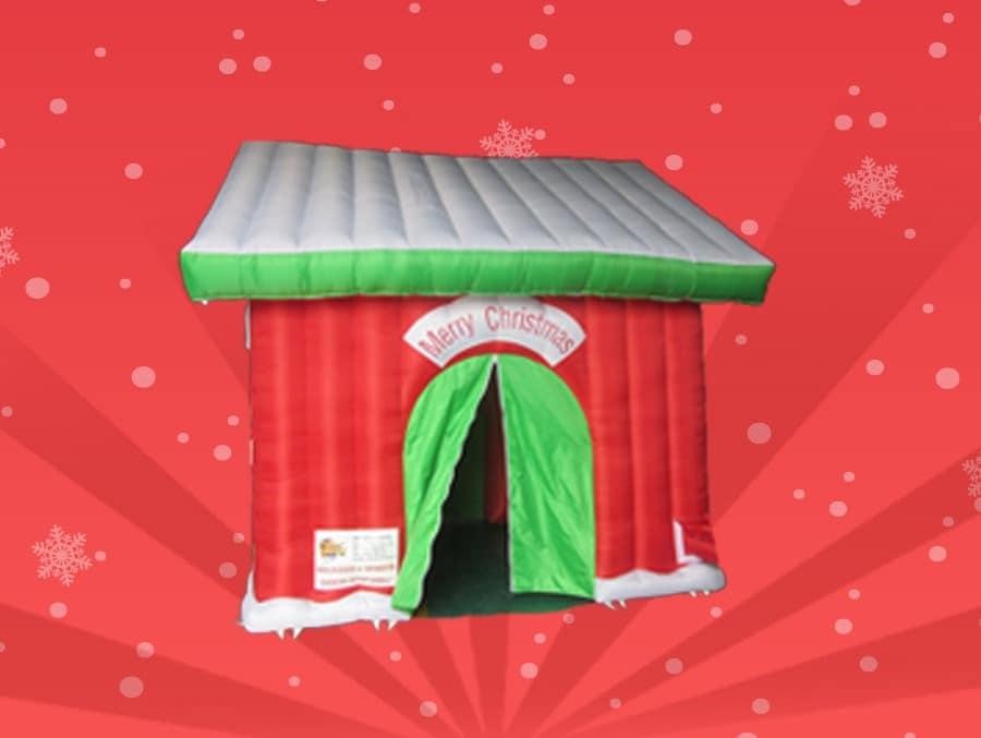 Casa Babbo Natale affitto noleggio eventi feste negozi comuni associazioni feste natalizie gazebo natale Marche Umbria Emilia Romagna Abruzzo Toscana Lazio